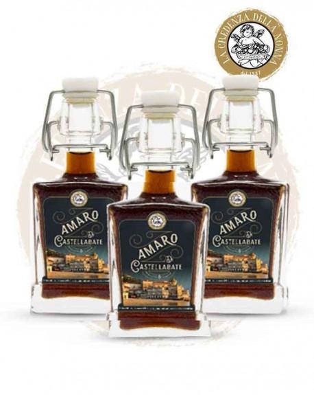 Amaro di Castellabate - 4 cl cad. (3 Pezzi)